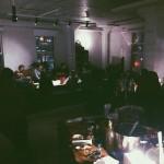 Juhlat näyttelynpitäjille Jätkäsaaressa 2015, Olohuuto