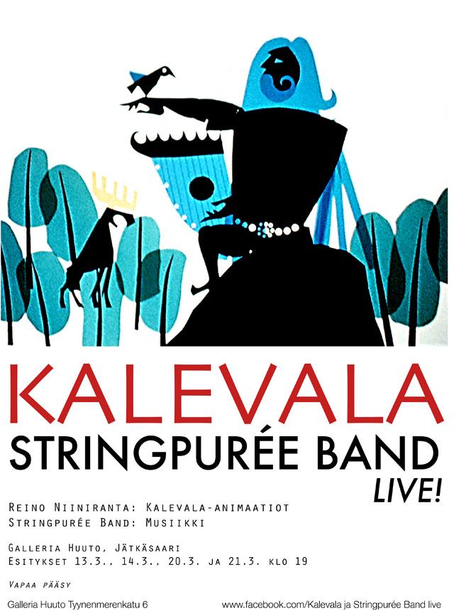 Kalevala Stringpurée Band Live