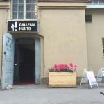 Galleria Huuto Jätkäsaaren ulko-ovi